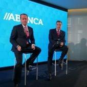 Juan Carlos Escotet y Fernando Vidal