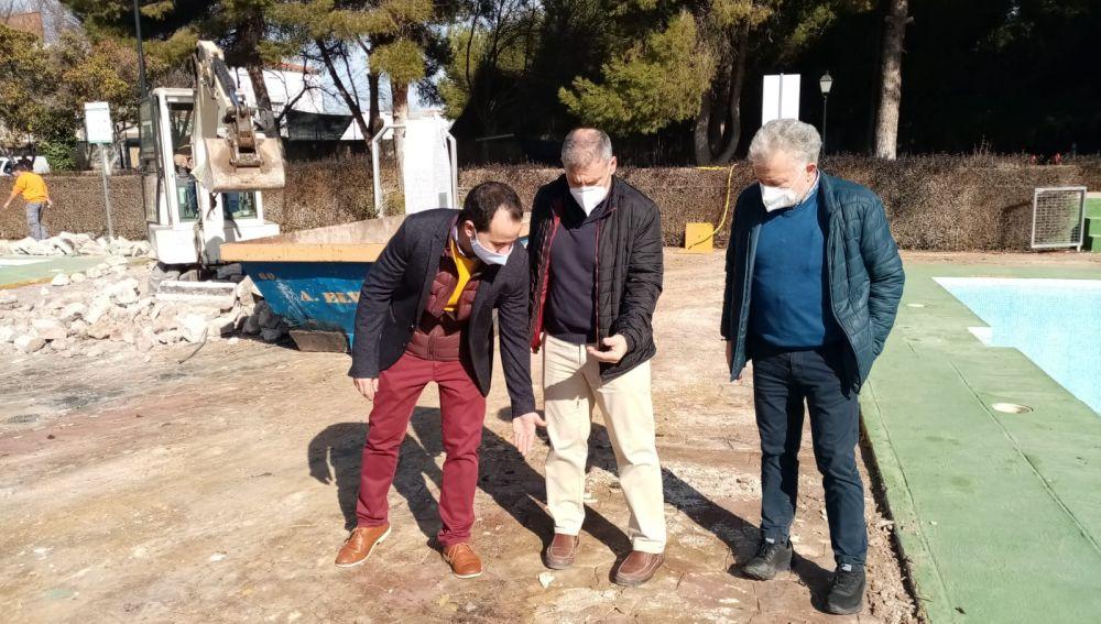 Comienzan las obras de remodelación integral de la Piscina Municipal de Herencia