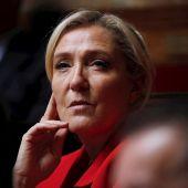 Marine Le Pen, líder de Agrupación Nacional