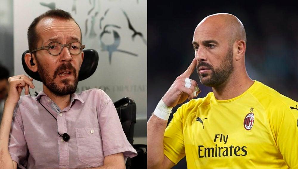 "Pepe Reina explota contra Echenique por el apoyo a las protestas por Pablo Hasel: ""No tenéis respeto ni vergüenza"""