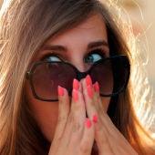 Una chica sorprendida