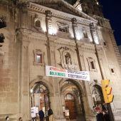 varios hosteleros se encierran en la iglesia gijonesa de San José