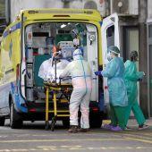 Un paciente con coronavirus ingresa en las Urgencias de un hospital gallego