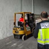 Detenido en Callosa un repartidor por robar un camión con una carga de chocolate valorada en 250.000 euros