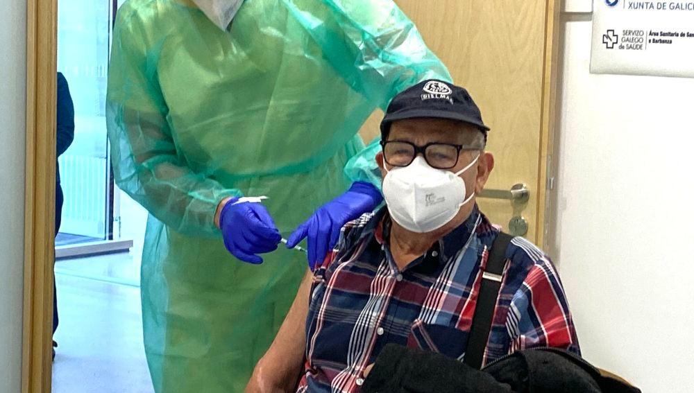 Vacunación mayores 80 años Galicia