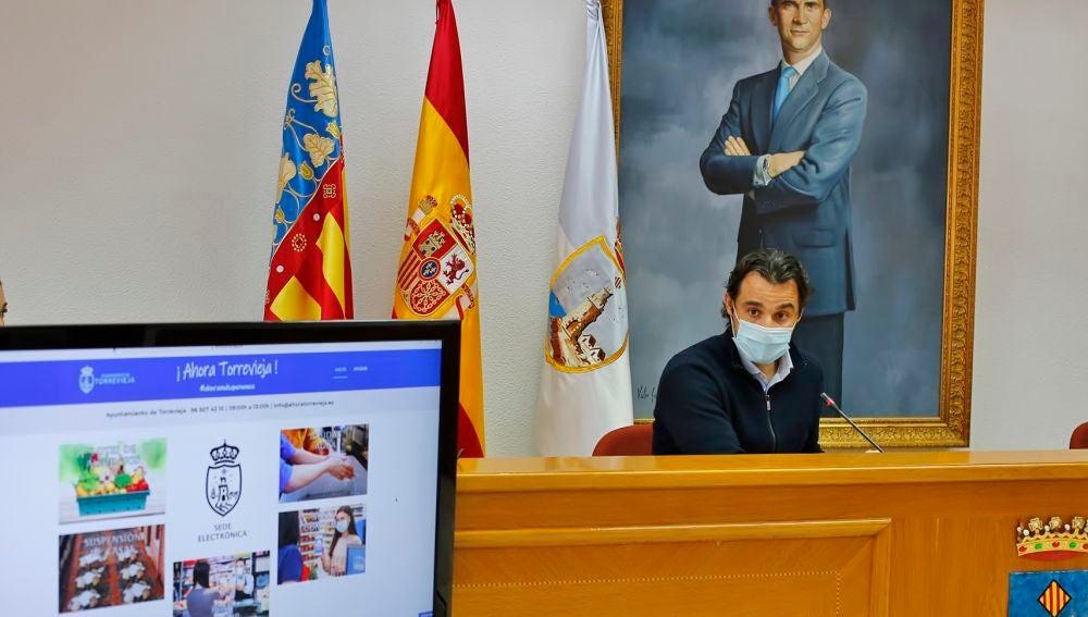 El Ayuntamiento crea la página web ¡Ahora Torrevieja! para que los ciudadanos puedan acceder a todas las ayudas disponibles