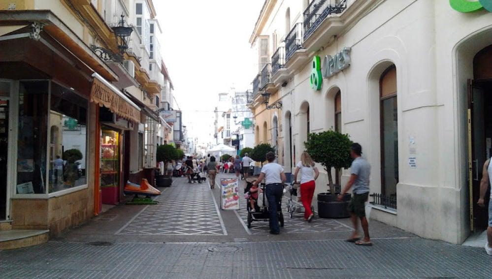 Una calle de San Fernando