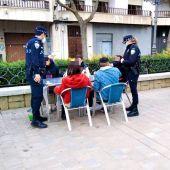 Control de terrazas por parte de la Policía Local de Ciudad Real