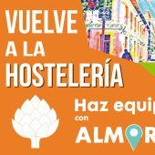 Desde Concejalía de Fomento del Ayuntamiento de Almoradí se quiere dar apoyo a la Hostelería, puesto que restaurantes, bares y cafeterías han estado cerrados durante todo un mes