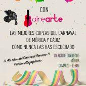 Las entradas gratuitas para 'Carnavaleando' estarán disponibles a partir del sábado