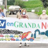 Ciudadanos visita la parcela de Granda elegida para la nueva ITV
