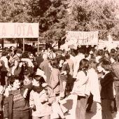 El Parque del Tío Jorge fue el escenario improvisado de la primera Cincomarzada