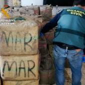 Incautados 96 fardos de hachís en una operación en Sanlúcar