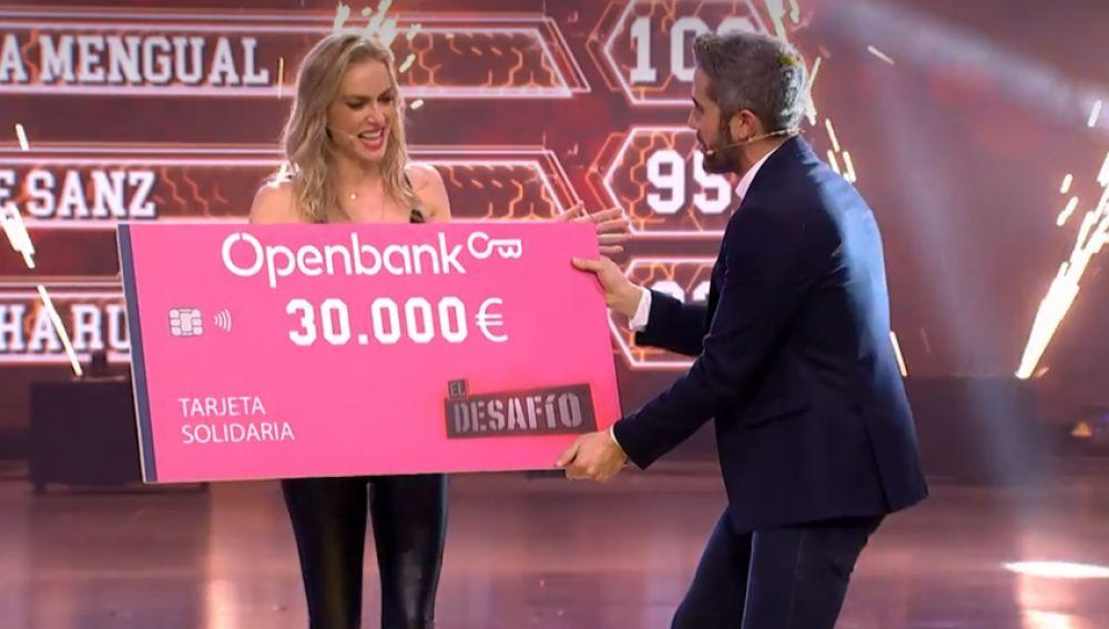 Kira Miró gana 'El Desafío' y dona el premio a la asociación Somos NUPA
