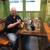 """Pablo Mosquera: """"Hay ciertas botellas de alcohol que tienen unos valores bastante desorbitados para los mortales"""""""