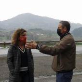 Susana Fernández y José Manuel Estrada, hoy en Villaviciosa