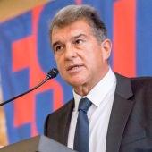 Laporta, presidente del Barça