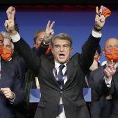 Joan Laporta, nuevo presidente de FC Barcelona