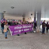 Concentración de los sindicatos en Ciudad Real