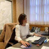 Elena Allué, directora general de Turismo de Aragón