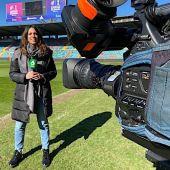 Andrea Segura, periodista de laSexta Deportes y narradora en DAZN.