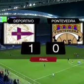 Deportivo 1-Pontevedra 0