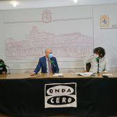 Angel Ordás, José Antonio Díez, Javier Chamorro y Vicente Canuria