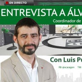 Entrevista a Álvaro Sanz, coordinador de IU en Aragón