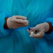 Imagen de una vacuna del coronavirus