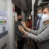 Los usuarios de Metro Sevilla podrán conocer en tiempo real la calidad del aire del interior de los vagones