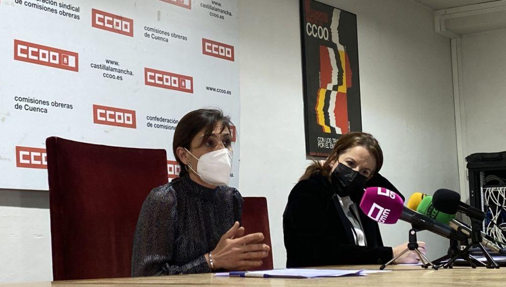 María José Mesas aspira a la reelección en CCOO Cuenca