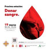 Proxima estación: donar sangre