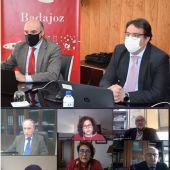 El Pleno de la Cámara de Comercio de Badajoz analiza las medidas económicas para empresarios y autónomos