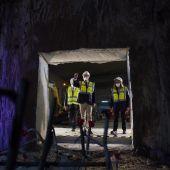 Juanma Moreno anuncia el final de las obras de excavación de los túneles del Metro de Málaga