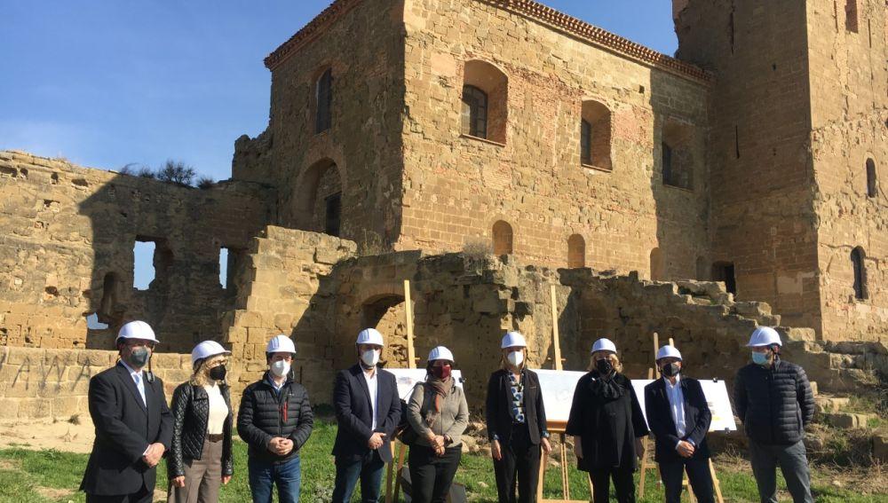 """""""La restauración del Castillo de Montearagón descubrirá el potencial oculto de la fortaleza"""""""