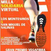 Milla Solidaria Virtual Los Montesinos & San Miguel de Salinas. Premio Especial Vega Fibra