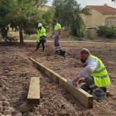 El proyecto desarrollado por Hidraqua contempla crear 68 parcelas y un área de esparcimiento para los vecinos, con una pérgola y mesas de pícnic