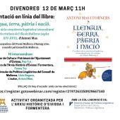 El Ayuntamiento de Ibiza presenta el último libro de Antoni Mas