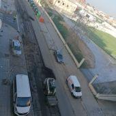 Las calles del centro comenzarán a asfaltarse mañana jueves