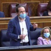 Pablo Iglesias señala la diferencia entre 'Paca la Piraña' y Santiago Abascal