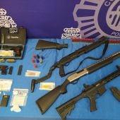 Trafico de armas y drogas