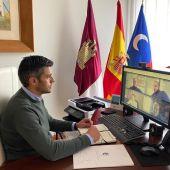 Lázaro quiere revitalizar la estación de ferrocarril criptanense