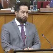 Fran Carrillo, diputado de Ciudadanos.