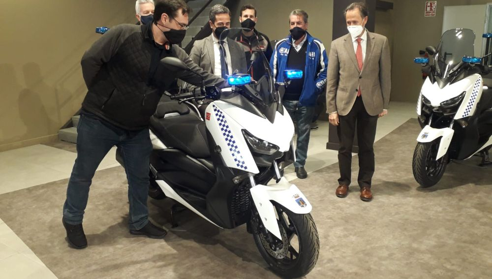 Dos motos más para la Policía Local de Chiclana