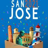 Cartel de la Fiestas de San José 2021
