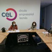 Mesa redonda desde el CEL, celebrándo el día de la Mujer.