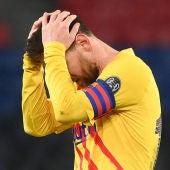 Barça, fuera de la Liga de Campeones