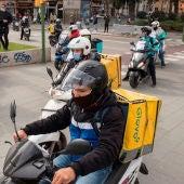 Riders, repartidores a domicilio