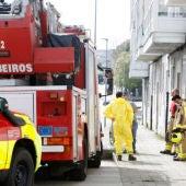 Una mujer sufre quemaduras tras una explosión de gas. (foto de archivo)