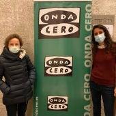 Maite Quintana y Cristina Cadenas